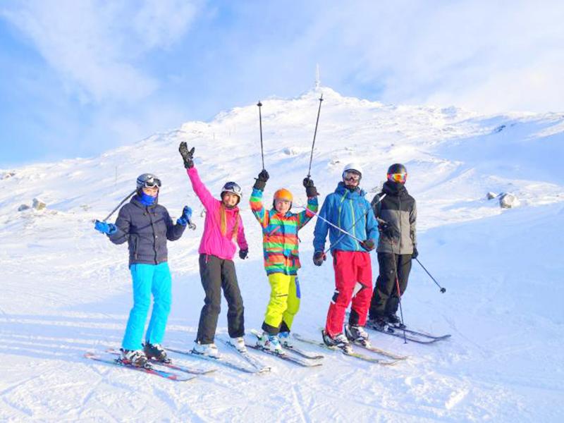 Trượt Tuyết Khi Du Lịch Hàn Quốc