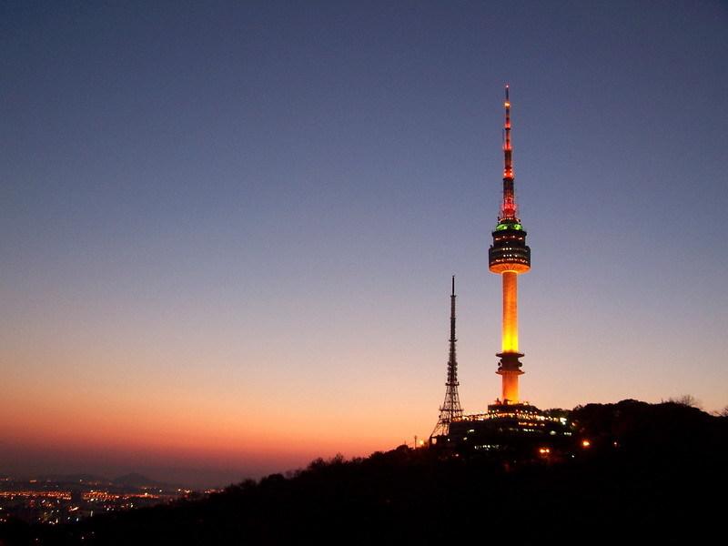 Du Lịch Hàn Quốc Tháp Namsan